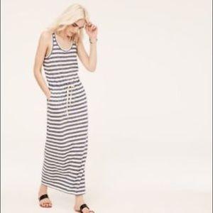 Lou & Grey nautical striped drawings maxi dress